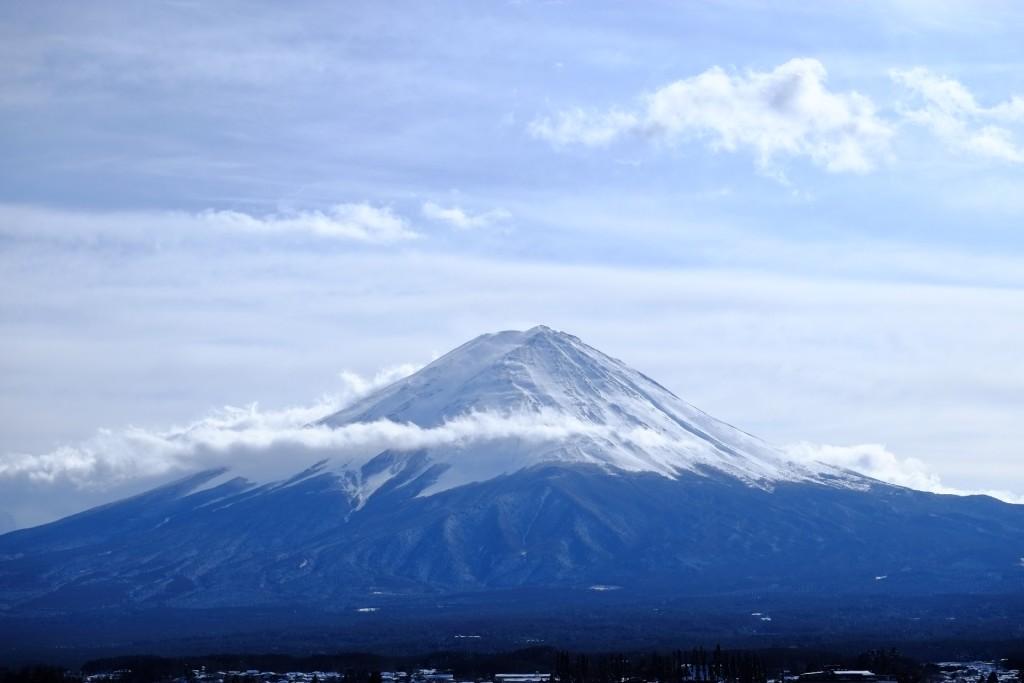 mt.fuji from lake kawaguchi