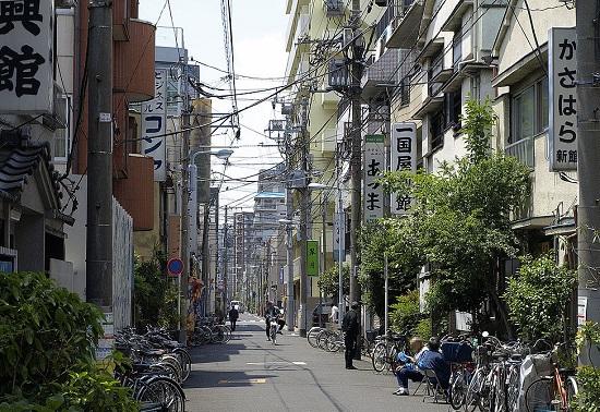 Sanya Doyagai(ドヤ街)